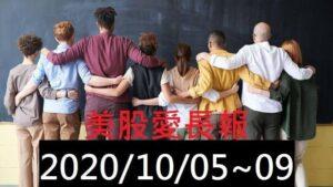 美股愛長報 2020/10/05