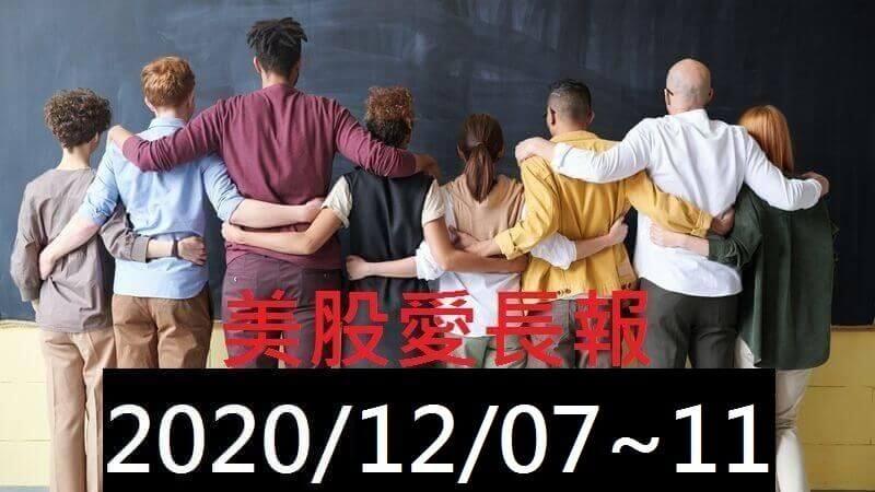 美股愛長報 2020/12/07