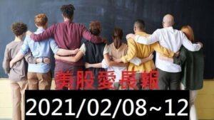 美股愛長報 2021/02/08