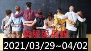 美股愛長報 2021/03/29